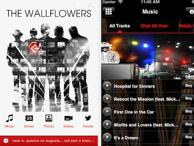 the wallflowers app